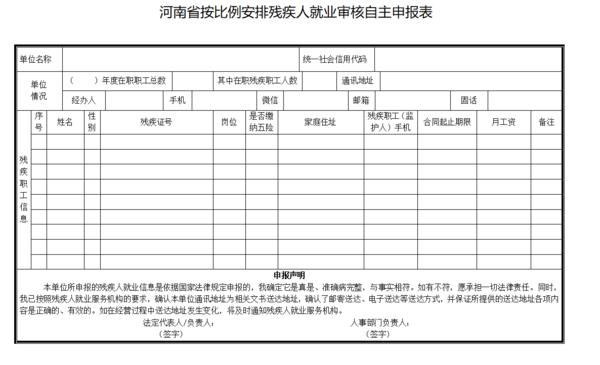 河南省按比例安置殘疾人就業審核自主申報表.png